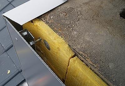 Kaminisolierung, Fassadendämmung