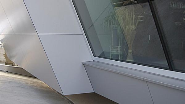 Fassadenarbeiten, optische Gestaltung